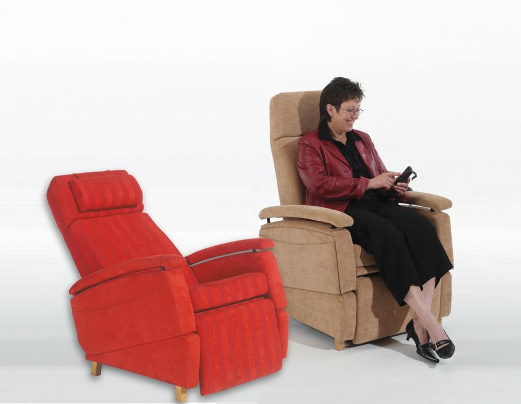 Aangepast stoel LeChair, vergoeding