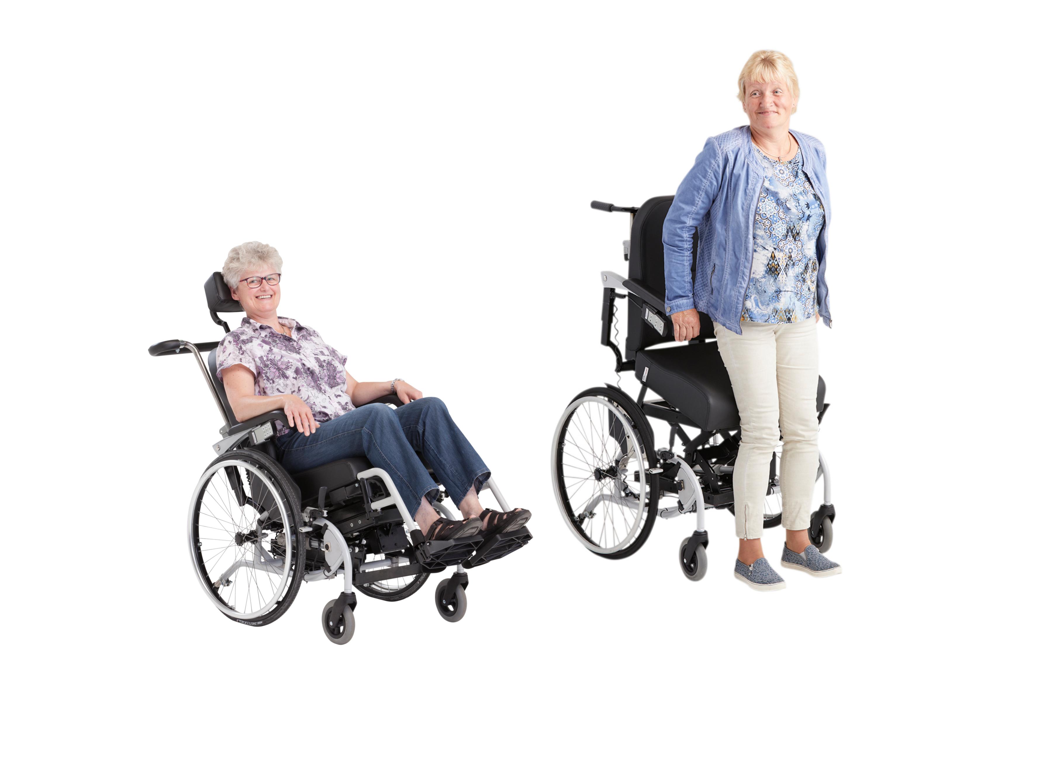 Aangepaste rolstoel LeRoulé (Plus)